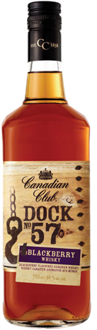 Canadian Club Canadian Whisky Dock No 57 Blackberry